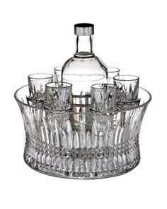 """Lismore Diamond"" Vodka Set by Waterford at Neiman Marcus."