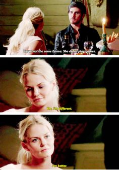 "Emma Swan and Killian Jones - 5 * 3 ""Seige Perilous"" #CaptainSwan"