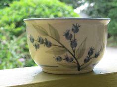 Handmade Vintage 1983 Union Stoneware Maine by thinkbluesky, $15.00