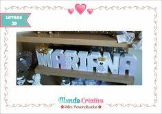Letras 3D Princesa Maternidade