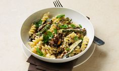 Try this tasty and nutritious dish to liven up your pasta.