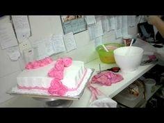 ▶ beth confeiteira mestre em flores de chantili - YouTube