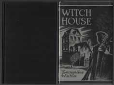 1945 First Edition of Witch House by Evangeline Walton Arkham House Fine/Fine