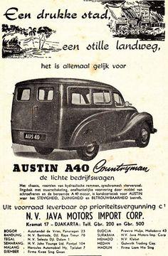 Indonesian Old Commercials:AUSTIN A40 Countryman, de lichte bedrijfswagen