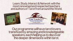 Promotion for the UK #Tarot Conference 2014. Kirsten, our President will be support this great event!