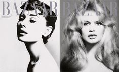 Bazaar Spain Tributes Richard Avedon with Audrey Hepburn, Brigitte Bardot, Elizabeth Taylor Covers