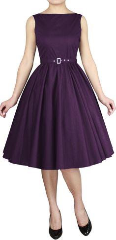 f29a525447999 Classic 50s Dress in Poplin---Standard Size Retail  43.95 ---Plus
