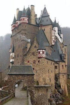 Сказочный замок Эльц, Германия - Путешествуем вместе