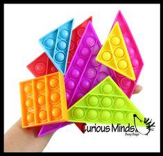 Bubble Pop Game, Bubble Popper, Tangram Puzzles, Game 7, Stress Toys, Sensory Toys, Fidget Toys, Occupational Therapy, Bubble Wrap