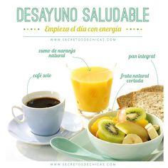 Desayuno saludable y energético! #salud #estudiantes #umayor