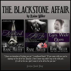 The Blackstone Affair series by Raine Miller