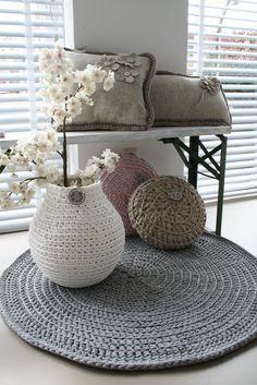 Tapetes de Croche em um Passo a Passo Fácil