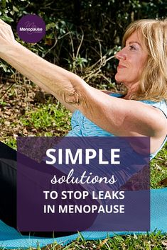 Leaky Bladder Remedies   There are natural ways to stop leaks in menopause. So, come on, read the article to know all about it! Urinary incontinence remedies   How to stop leaky bladder   Why does my pee leak after peeing? #LeakyBladderRemedies #BladderProblems #StopMenopauseLeaks Menopause Signs, Menopause Relief, Menopause Symptoms, Natural Remedies For Menopause, Urinary Incontinence, Hormone Replacement Therapy, Girl Tribe, Ageing, Flow