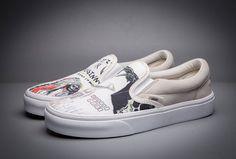 15b5ca7a96 Wes Lang X Vans Vault OG Slip-On LX Skateboard Shoes  Vans