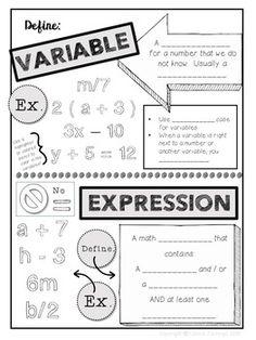 20 best Pre-Algebra Chapter 2 images on Pinterest