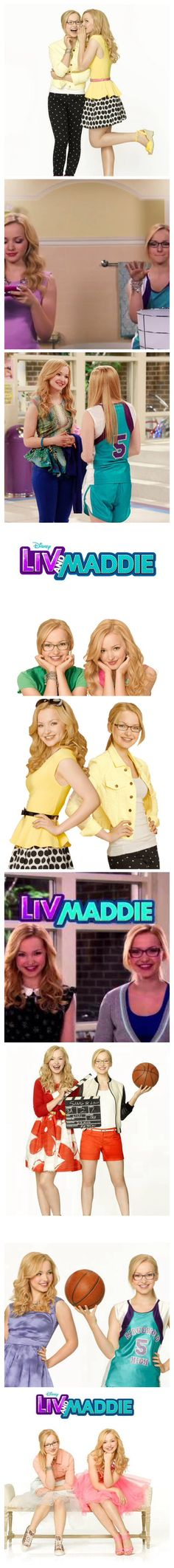 Liv and Maddie photo strip