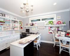 Craft Room Home Design Ideas, Pictures, Remodel and Decor