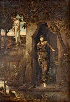 Strudwick, John, (1849-1937), Circe and Scylla, 1886, Oil
