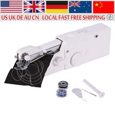Multifunction Portable Electric Sewing Machine Manual Tailor for Traveling and Household //Price: $21.04 & FREE Shipping //     #Toys