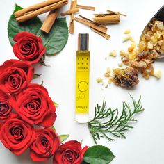 Amplify Aromatherapy Perfume can help with feeling recharged, empowered and physically and emotionally strong.