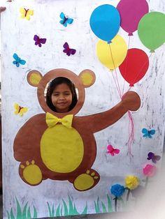 teddy bear photo me -Jesse Birthday Party At Park, Picnic Birthday, 2nd Birthday, Birthday Ideas, Teddy Bear Day, Teddy Bear Birthday, Build A Bear Party, Bear Crafts, Bear Photos