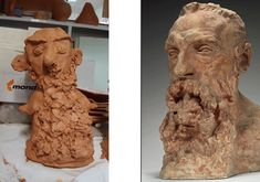 Arte infantil: Bustos como los de Rodin