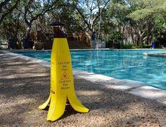 Banana Cone Slippery Floor, Wet Floor, Yellow Sign, Visual Metaphor, Banana, Yanko Design, Warning Signs, Product Design, Creative