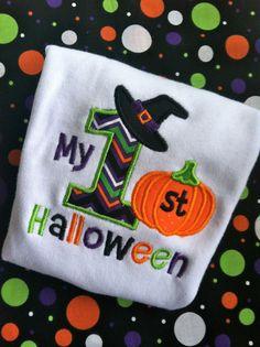 My 1st Halloween Onesie by ShopChasingBubbles on Etsy, $18.95