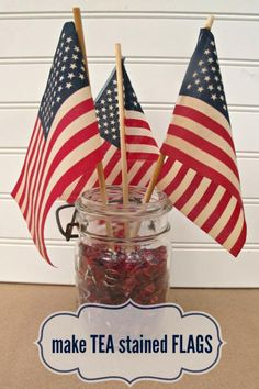 tea stained flags mysoulfulhome.com