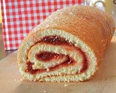 Economy Roll / Jam Roll – Romanian Recipe – Economy Roll / Jam Roll – Romania… – Famous Last Words Bosnian Recipes, Sicilian Recipes, Greek Recipes, Tart Recipes, Dessert Recipes, Cooking Recipes, Desserts, Jam Roll, Swiss Roll Cakes
