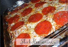 Pepperoni Spaghetti Bake Recipe – Make Ahead Meals