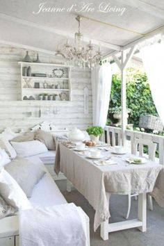 48 best shabby chic outdoor decor images backyard patio garden rh pinterest com