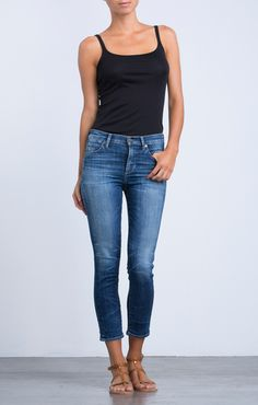 Rocket High Rise Crop Skinny in Weekender // Citizens of Humanity