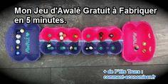 un jeu d'Awalé facile à faire