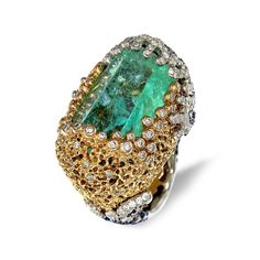 For consulting on how to purchase high end jewelry, don't hesitate to write me a message. Emerald Jewelry, High Jewelry, Jewelry Art, Unique Jewelry, Vintage Jewelry, Jewelry Design, Emerald Rings, Fantasy Jewelry, Ring Designs
