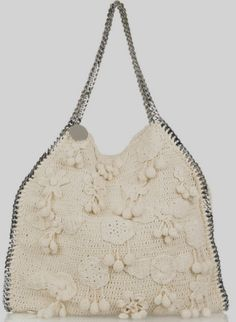 Stella-McCartney -Falabella- Large- crocheted -shoulder- bag-3