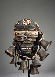 A Guere-Wobe war mask