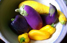purple and yellow | the purples and yellows of summer | elizablessed | Flickr