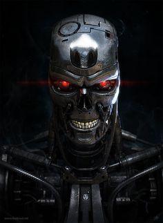 Terminator: T-800 Model 101, Alexander Billik on ArtStation at https://www.artstation.com/artwork/terminator-t-800-model-101