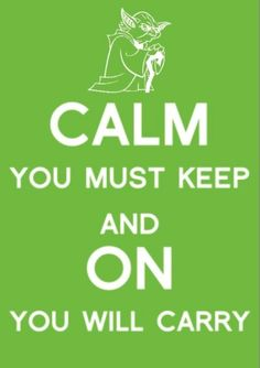 Yoda :) I like it better phrased this way!  Made me think of you@Patricia Northrop