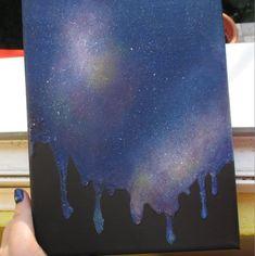 Melting galaxy by just-the-beginning.deviantart.com on @DeviantArt