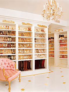 My fantasy shoe closet... or at least something close to it