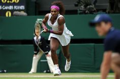 Serena dominating in the first set.