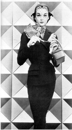 Jean Patchett - 1951 - Vogue