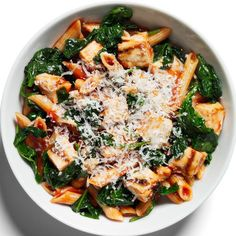 Chicken Parmigiana with Penne http://www.womenshealthmag.com/weight-loss/healthy-dinner-recipes/slide/27