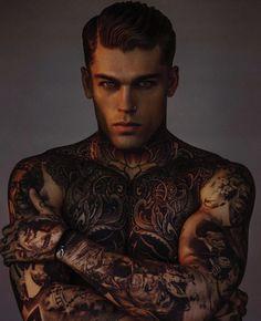Model Stephen James by Alejandro Brito