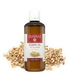 Ulei de susan BIO, virgin, 100 ml. Cosmos, Sesame Oil, Ayurveda, Whiskey Bottle, Medical, Products, Plant, Medicine, Med School