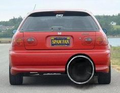 Things That Make You Love And Hate Car Modification Ideas Ricer Car, Pimped Out Cars, Best Cycle, 996 Turbo, Weird Cars, Crazy Cars, Tuner Cars, Jdm Cars, Car Mods
