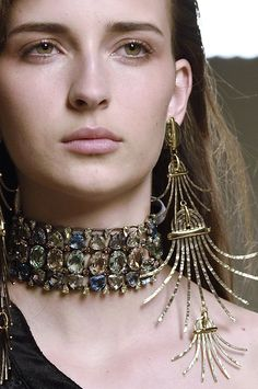 Zora this is the choker that inspired the idea but feel free to have free rein. Lanvin fall 2016 RTW