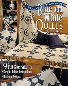 My favorite colors for the bedroom.  May have to creat a quilting area in the loft because I never see quilts i like - the old-fashioned kind, in the blue and white that i like so much.